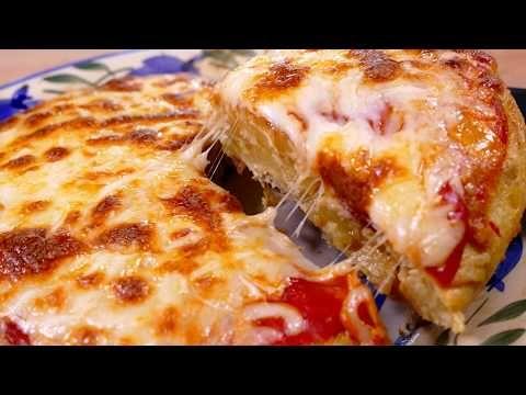 ¡Una receta para sorprender! Tortilla de patatas estilo PIZZA