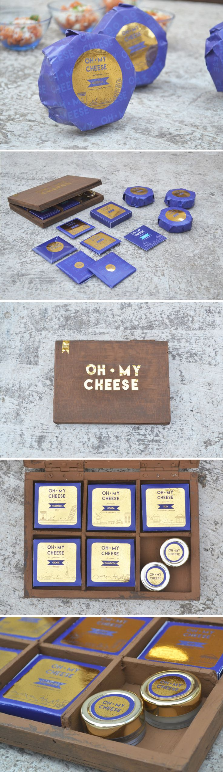 Oh My Cheese Student Packaging Design Concept