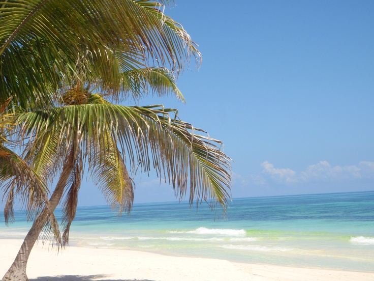 Tulum Beach, Mexico.  Yes, it's real.