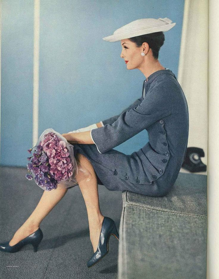 Anne St Marie for Vogue, February 1956