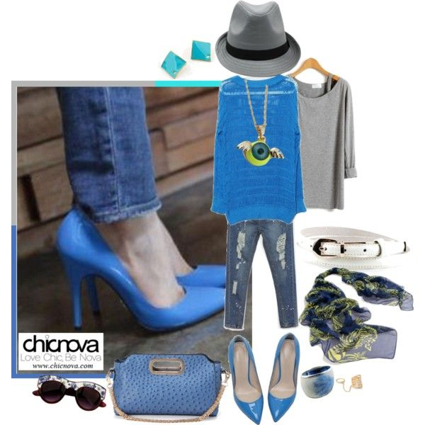 """""""Chinova Jeans & Heels Day!"""" by classicfem on Polyvore: A Mini-Saia Jeans, Jeans Heels, Coupon Contest, 100 Coupon, High Heels, Heels Career, Chinova Jeans"""