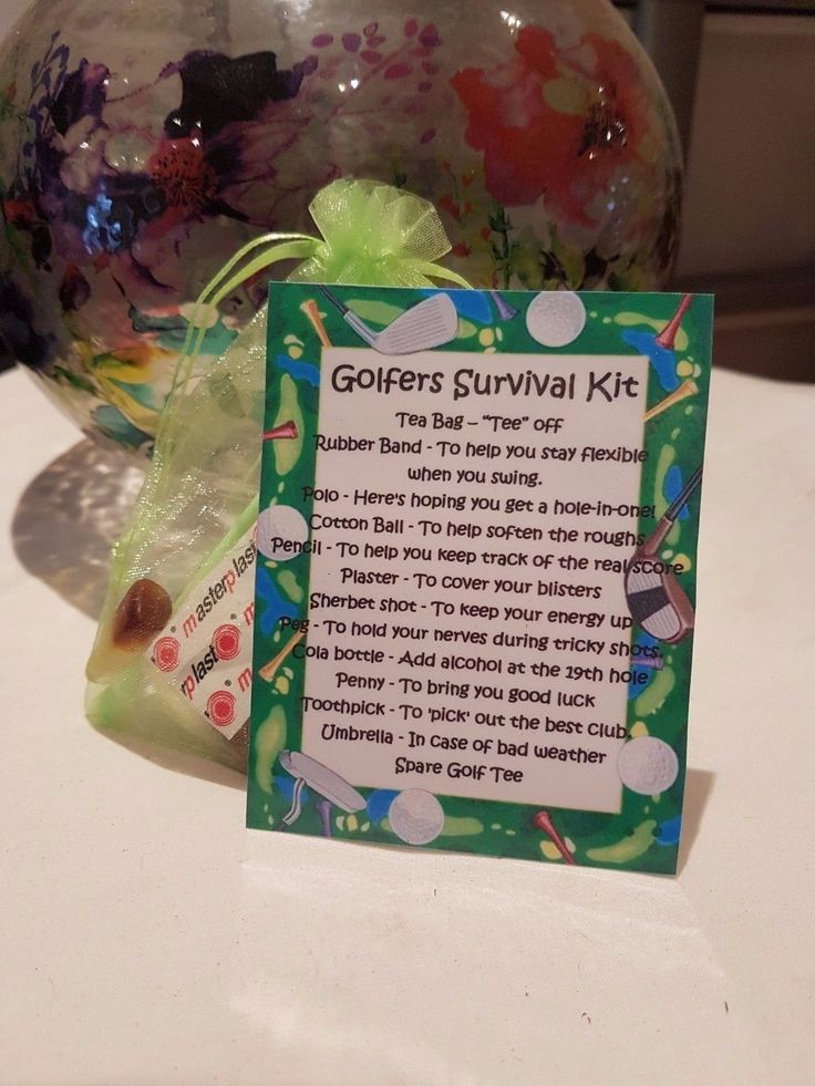 Golfers #survival kit - #novelty gift for a friend or #loved one, View more on the LINK: http://www.zeppy.io/product/gb/2/332094029762/