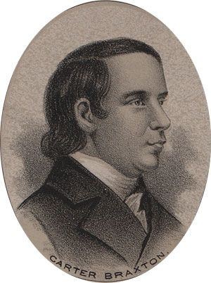 Carter Braxton- Signer of the Declaration of Independence (Virginia)