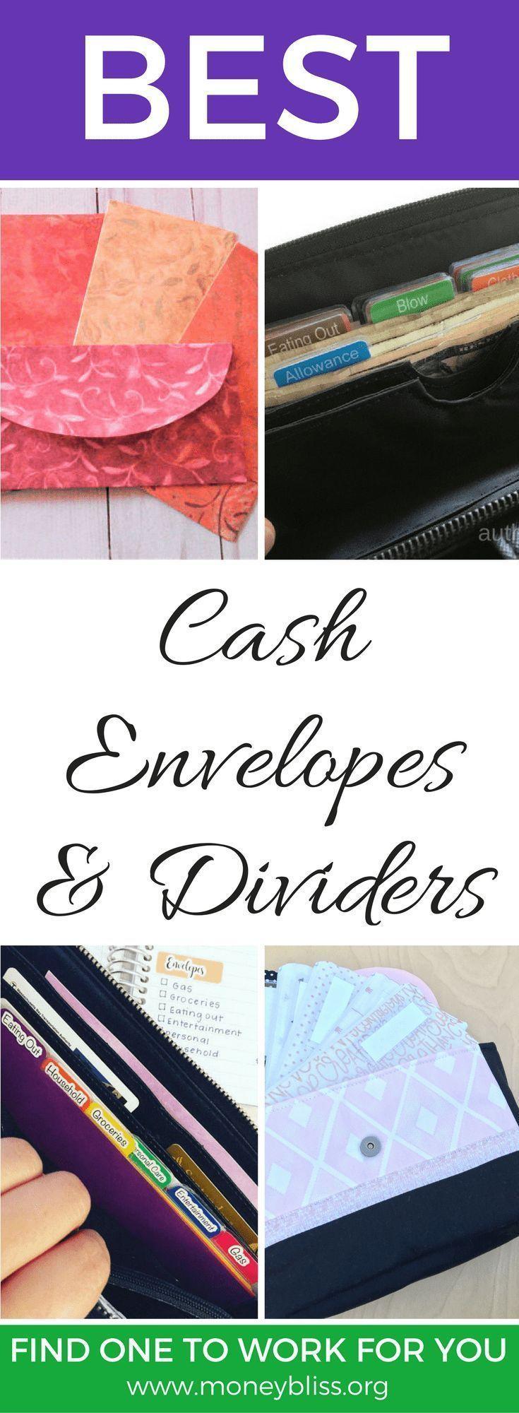 Best Cash Envelopes for Budgeting – Pick Your Favorite