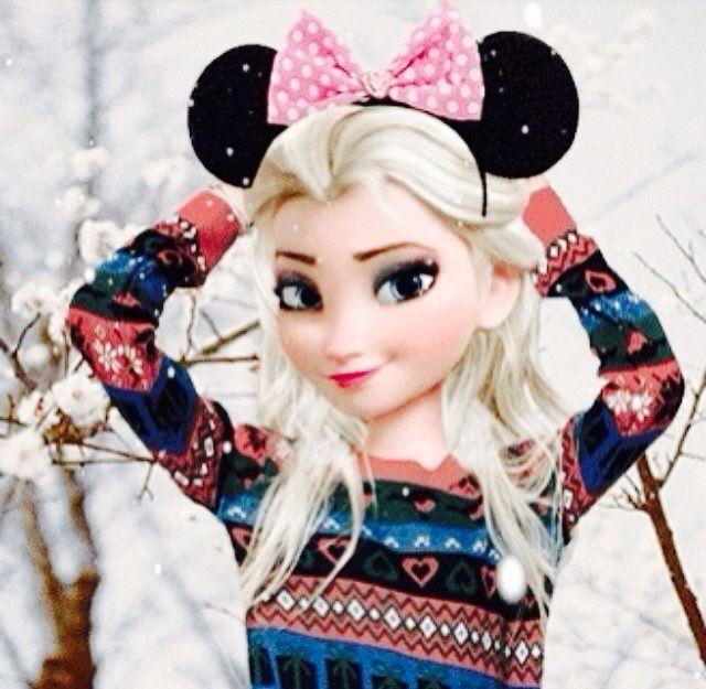 صورة فروزن روووعة Elsa Frozen Flower Iphone Wallpaper Disney