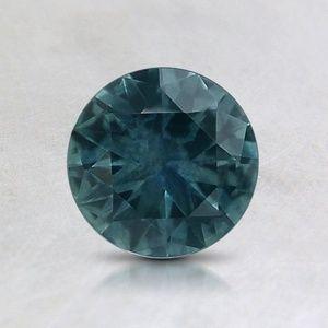 Loose Teal Round Sapphire – 6mm (Einstellungspreis)
