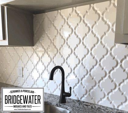 arabesque whisper white matte finish beveled lantern wall