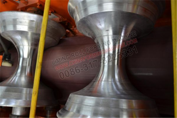 We are manufacture #Roofing #Ridge #Panel #Roll #Forming #Machine as customer's requirement,so engineer will design professional rollers,then we can get the correct design. There have different designs in different countries.