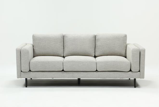 Aquarius Light Grey Sofa Living Spaces Light Gray Sofas Gray Sofa Living Sofa