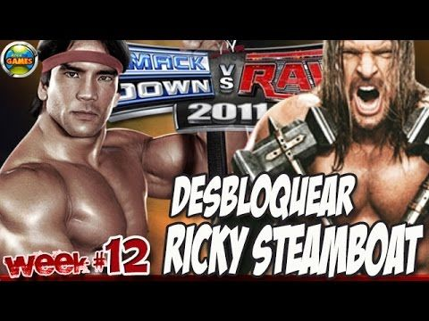 WWE Desbloquear Ricky Steamboat Week #12 SvR 2011