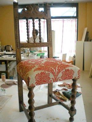 Conoce la t cnica para restaurar asientos antiguos butacas sillones y viejitos - Sillones antiguos para restaurar ...