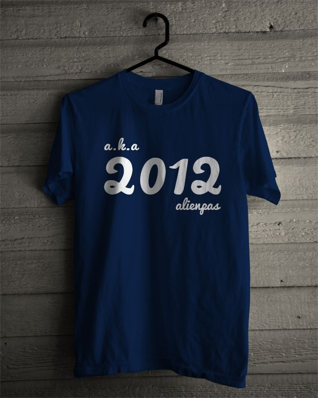 T-shirt Alienpas #3 (Navy)