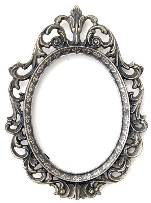 Marco plateado marcos marcos para espejos imprimir - Espejos marco plateado ...