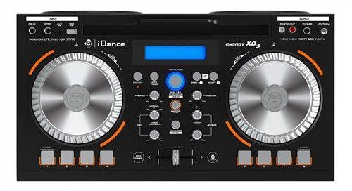 iDance Party høyttaler med tilkopling for mikrofon, gitar etc. | Satelittservice tilbyr bla. HDTV, DVD, hjemmekino, parabol, data, satelittutstyr
