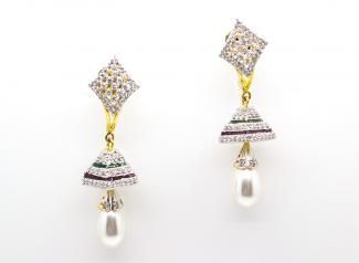 ADE113 - American Diamond Earings