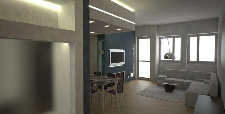 appartamento P. Pescara (Italia) rendering