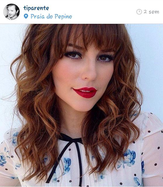 it Lady   Xênia Virginie: Inspirações   Corte para cabelo cacheado + franja