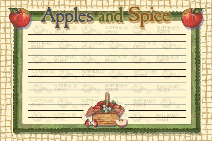 Recipe Cards - Kathy Pack - Picasa Web Albums