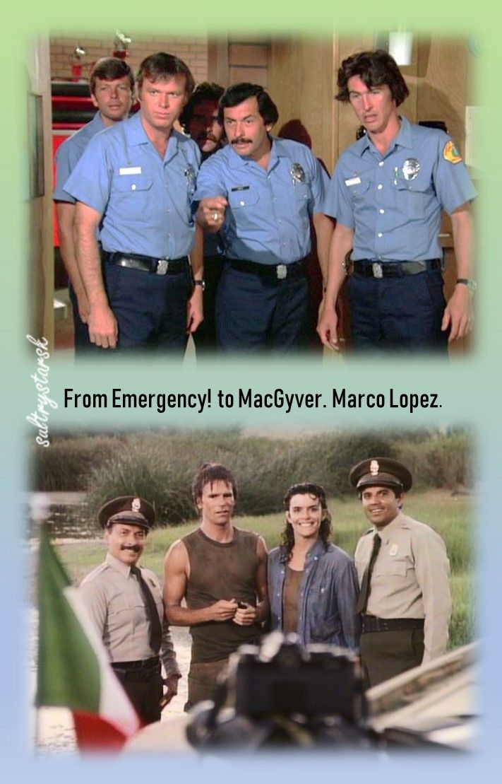 Knew I'd seen that guy somewhere before! (Marco Lopez has