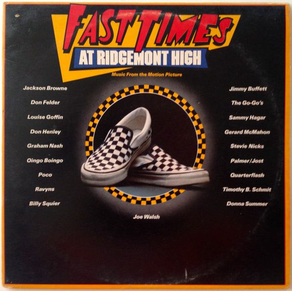 Fast Times at Ridgemont High Gatefold Double LP Vinyl Record Album, Asylum Records - 60158-1, Soundtrack, 1982, Original Pressing