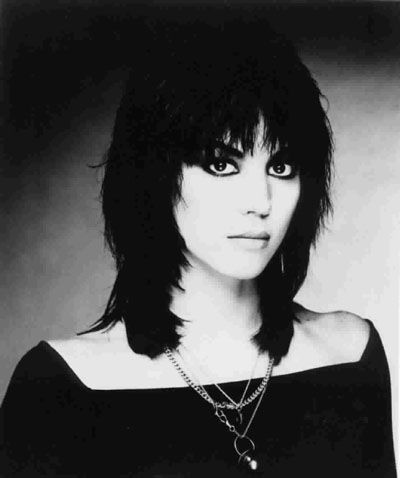 Joan Jett - I didn't just like her, I wanted to BE her. I loved her style from her hair to hr clothes and , of course, her music.
