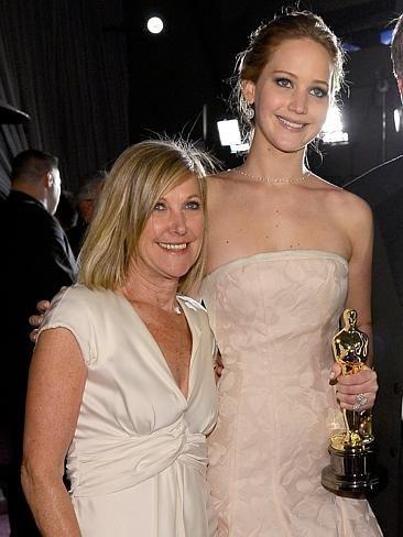 Jennifer Lawrence and mum Karen. CelebCon - Stars with their mums | News.com.au