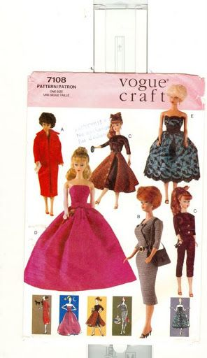 Free Copy of Pattern - Vogue 7108; with a bit of ingenuity, this could probably be turned into a MH pattern.