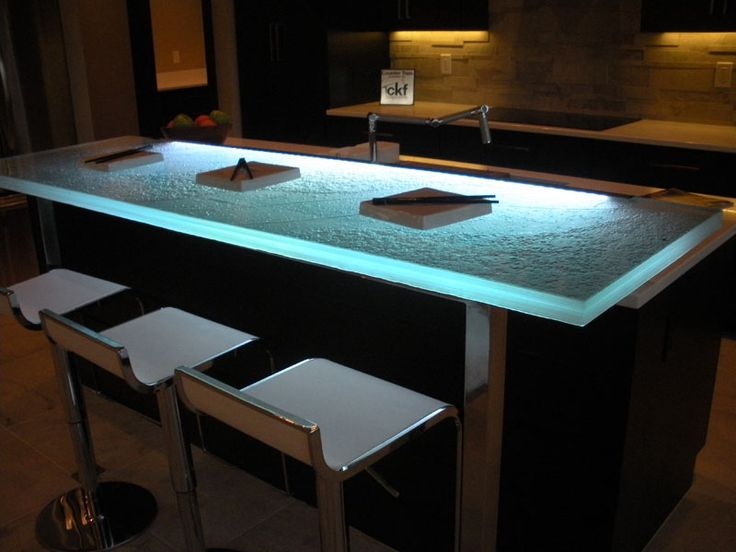 14 best Glass Bar Countertops images on Pinterest | Bar countertops ...