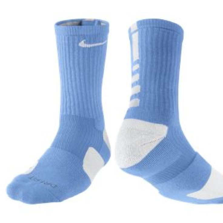 Nike Elite socks light blue