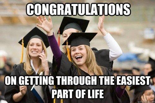 High school.... because it's true...