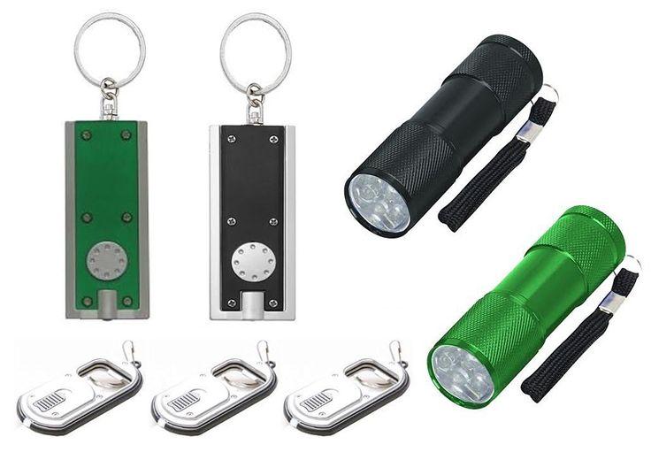 Flashlight LED Set: 2- 3½ Inch Nine LED Aluminum Flashlights -- You can find more details by visiting the image link.