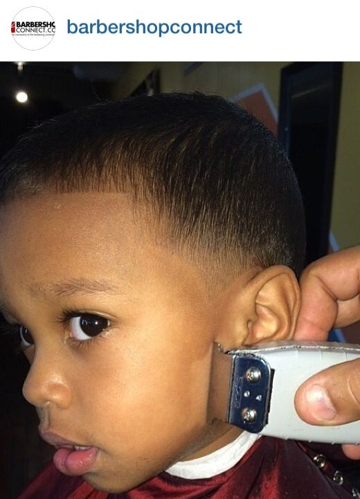 how to cut black toddler boy hair with scissors