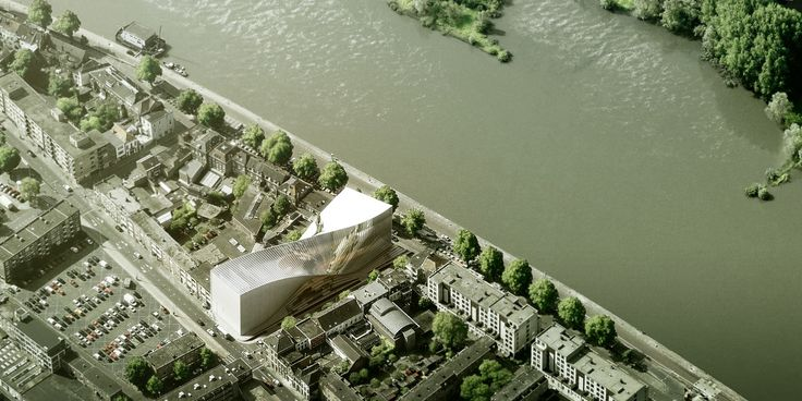 "BIG Shortlisted to Design ARTA ""Arts Cluster"" in Arnhem"