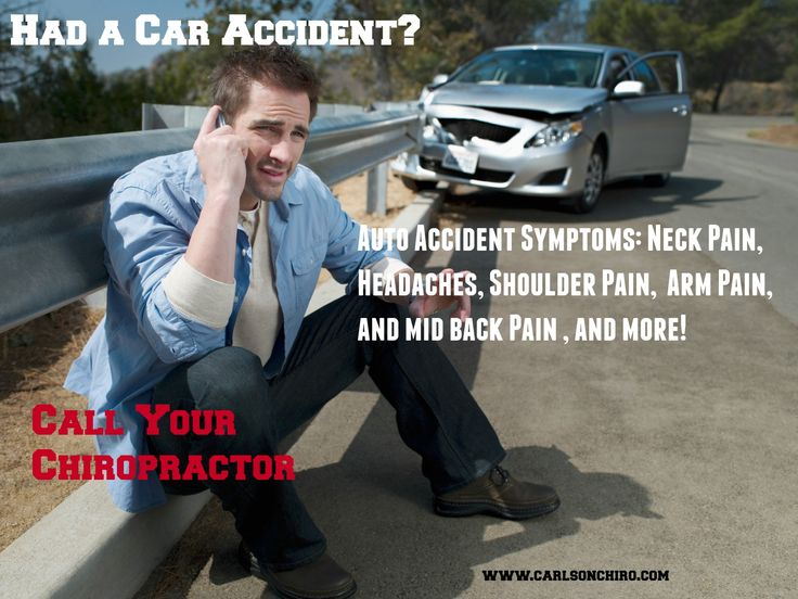 Austin Car Accident Symptoms - Have you had a car accident and are now experiencing symptoms?  Frequent whiplash symptoms include: neck pain, shoulder pain, headaches, arm pain, mid back pain, low back pain, and sciatica. Chiropractic is effective in treating car accident injuries.  Call today for your examination 512-447-9093 or learn more at http://www.carlsonchiro.com #AustinCarAccidentSymptoms #AustinWhiplashSymptoms   #AustinChirorpactor
