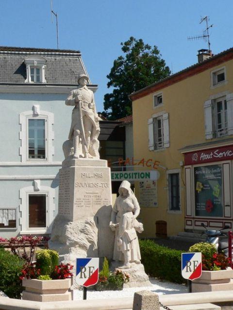 Monument aux morts de Cuisery (Haute-Saône).