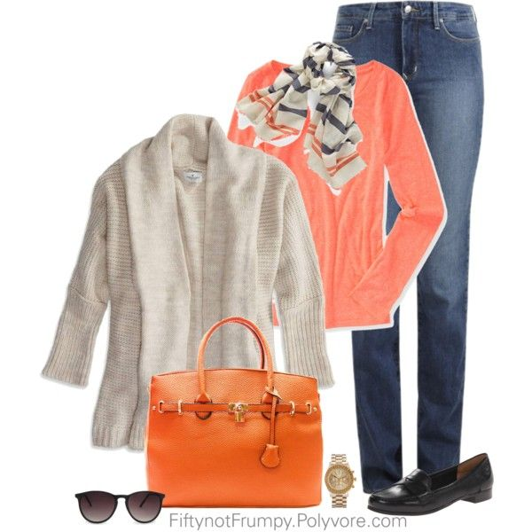 """Polished Casual"" by fiftynotfrumpy on Polyvore"