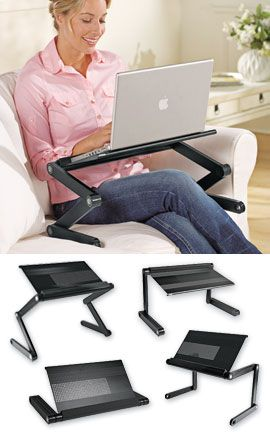 Comfylap™ Adjustable Table, Adjustable Laptop Table, Portable Laptop Desk | Solutions