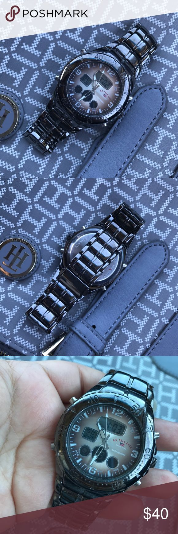 Mens U.S Polo Watch Digital and Manual watch. U.S. Polo Assn. Accessories Watches