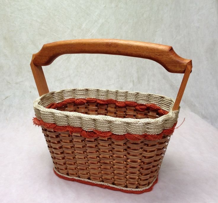 Shabby Chic Collection--Magazine Basket w/solid burlap colors