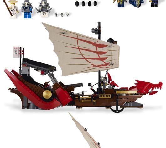 Giochi Lego Ninjago le parole non bastano per descrivere l'emozione che si prova costruendo questo battello
