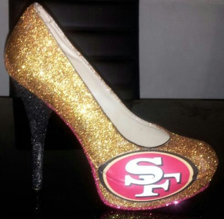 My diy 49ers shoes