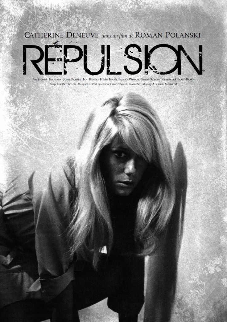 """Repulsion"" de Polanski avec Catherine Deneuve (1965)"