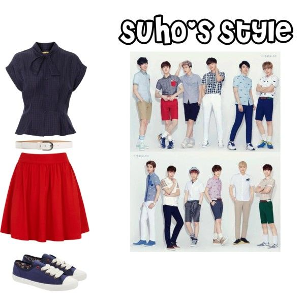 """""""EXO Ivy Club Suho Inspired Outfit"""" by nanrelladu on Polyvore"""