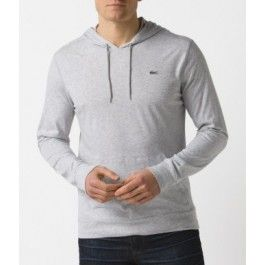 Hooded Jersey T-shirt, Grey