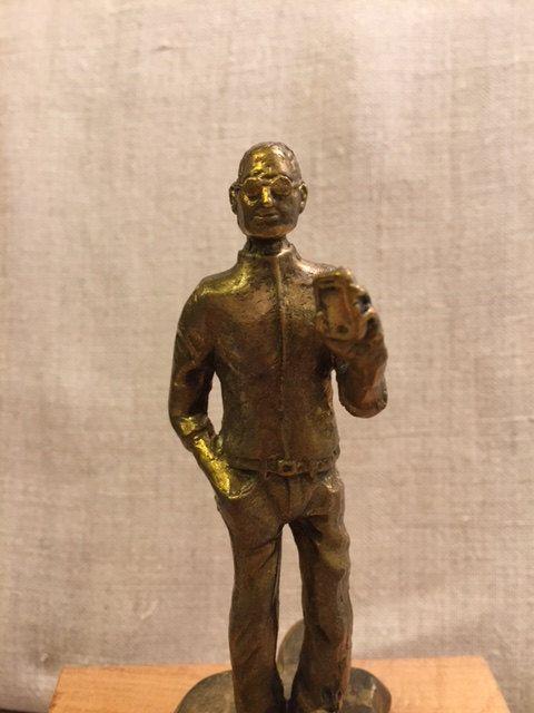 Steve Jobs Hand Bronze Casting by karinaartgallery on Etsy