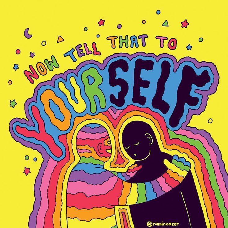 Self Hippie Art Psychedelic Art Art