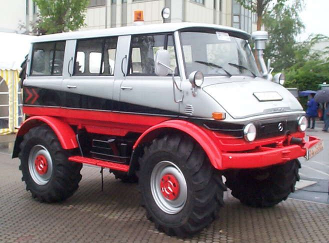 Unimog, replacement for the family SUV
