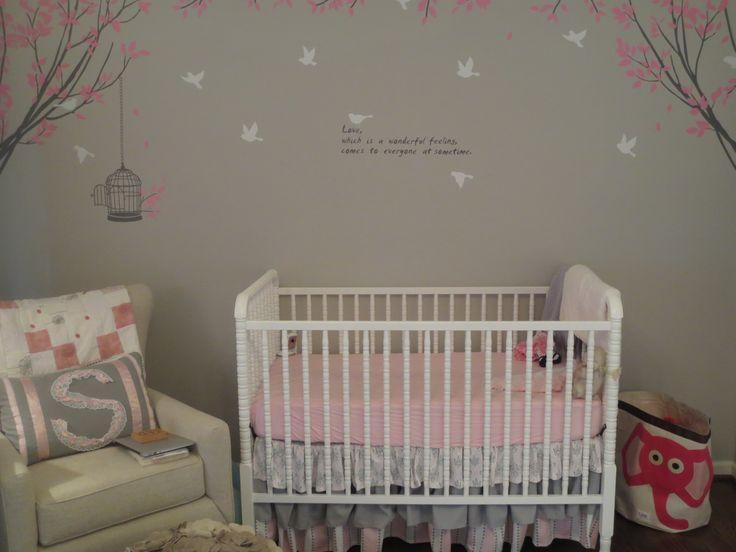Sophie baby girl nursery pinterest for Pinterest baby decor