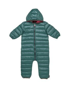 IMPS & ELFS Unisex Green Down Snow Suit. Shop here: http://www.tilltwelve.com/en/eur/product/1076655/IMPS-ELFS-Unisex-Green-Down-Snow-Suit/