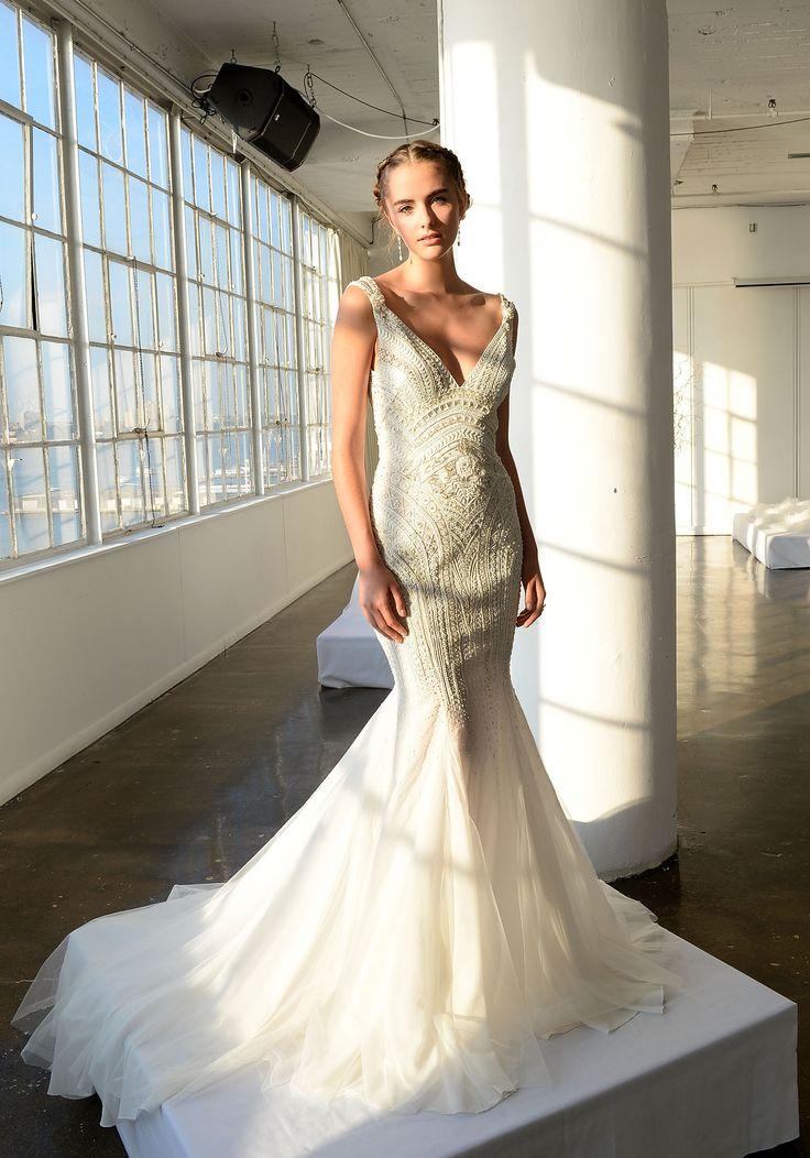 As noivas de inverno da Marchesa - Vogue | Desfiles